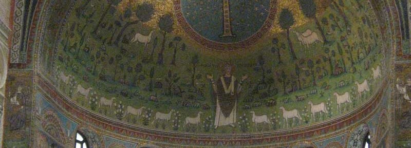 Sant'Apollinare in Classe, near Ravenna, 6th C.