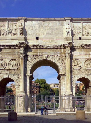 The Arch of Constantine (Image Source)