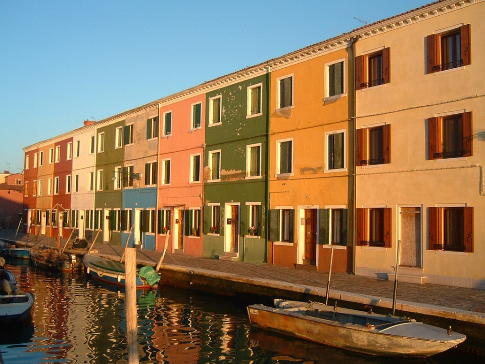 Burano, near Venice, Italy