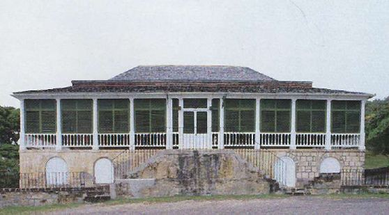 Fig. 8: Clarence House, Antigua.
