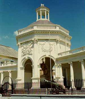 Fig. 4: The George Rodney Memorial in Spanish Town, Jamaica.