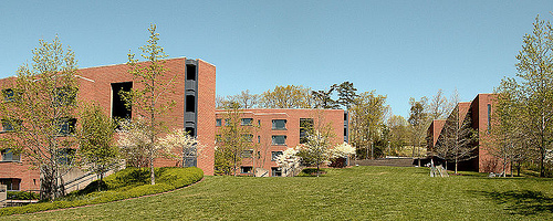 The University of Virginia's Hereford College, by architects Tod Williams and Billie Tsien.