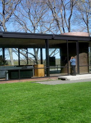 Philip Johnson's Glass House, New Canaan, Connecticut
