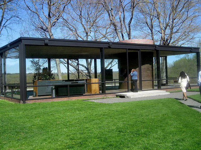 Philip johnsons glass house new canaan connecticut image source