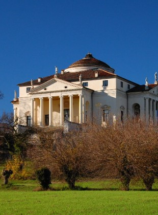 Palladio's Villa Rotunda, outside Vicenza, Italy