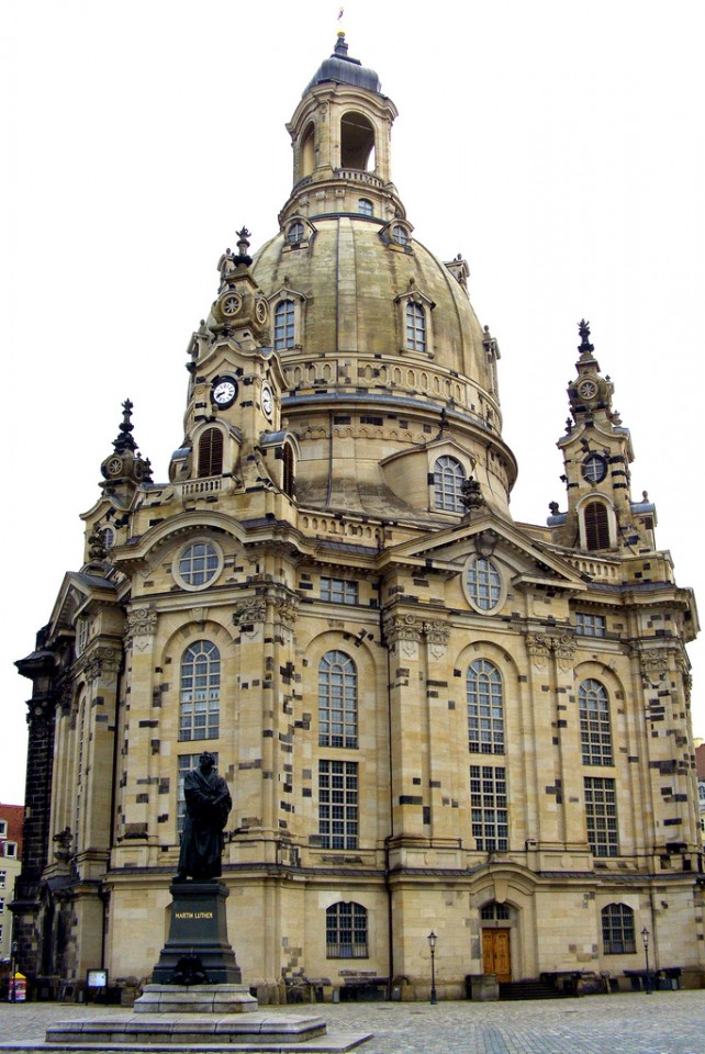 The Church of Our Lady (Frauenkirche), Dresden, Germany. | Marcantonio ...