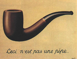 Painting by René Magritte, 1929