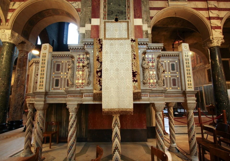 The ambo at Westminster Cathedral | Marcantonio Architects