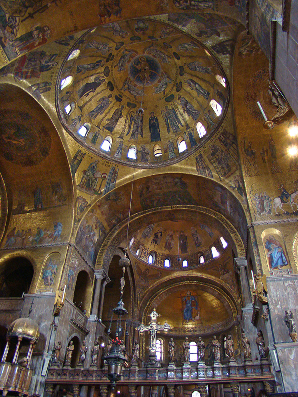 St. Mark's Basilica in Venice.