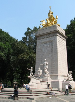 The centerpiece of the monument.