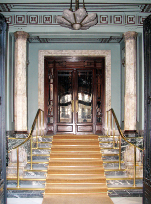 The Apartment House Entry Hall