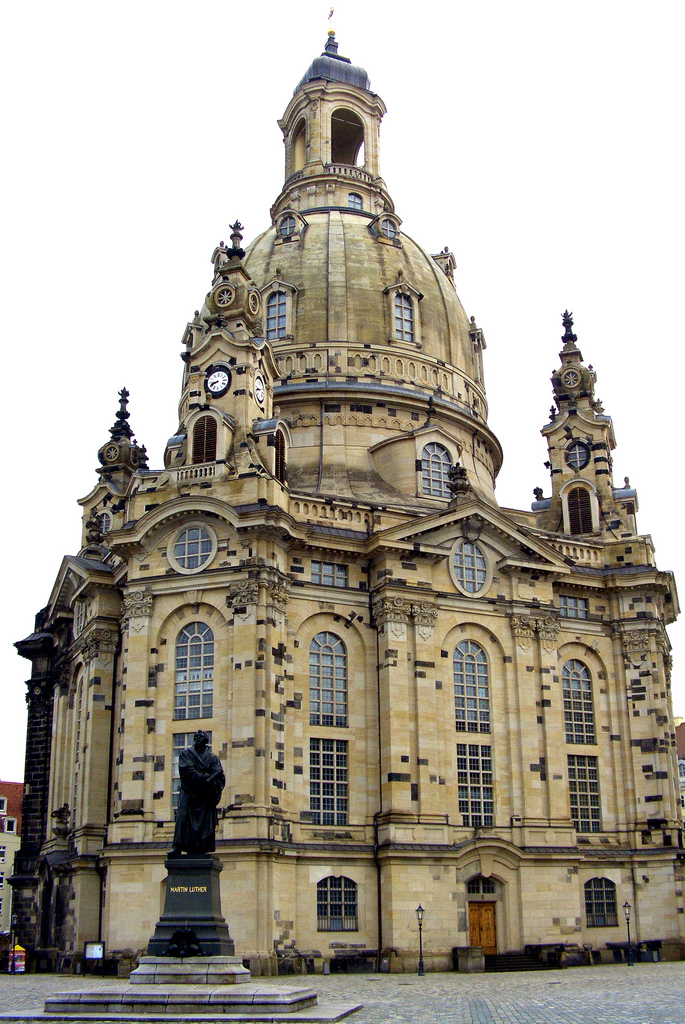 The Church of Our Lady (Frauenkirche), Dresden, Germany ...
